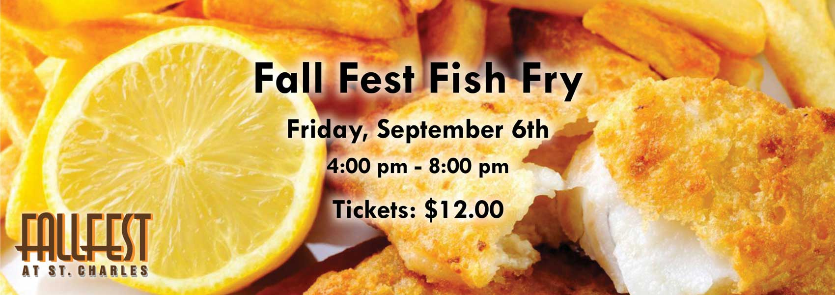 Friday Fish Fry - Friday Sept 6th - 4 to 8pm
