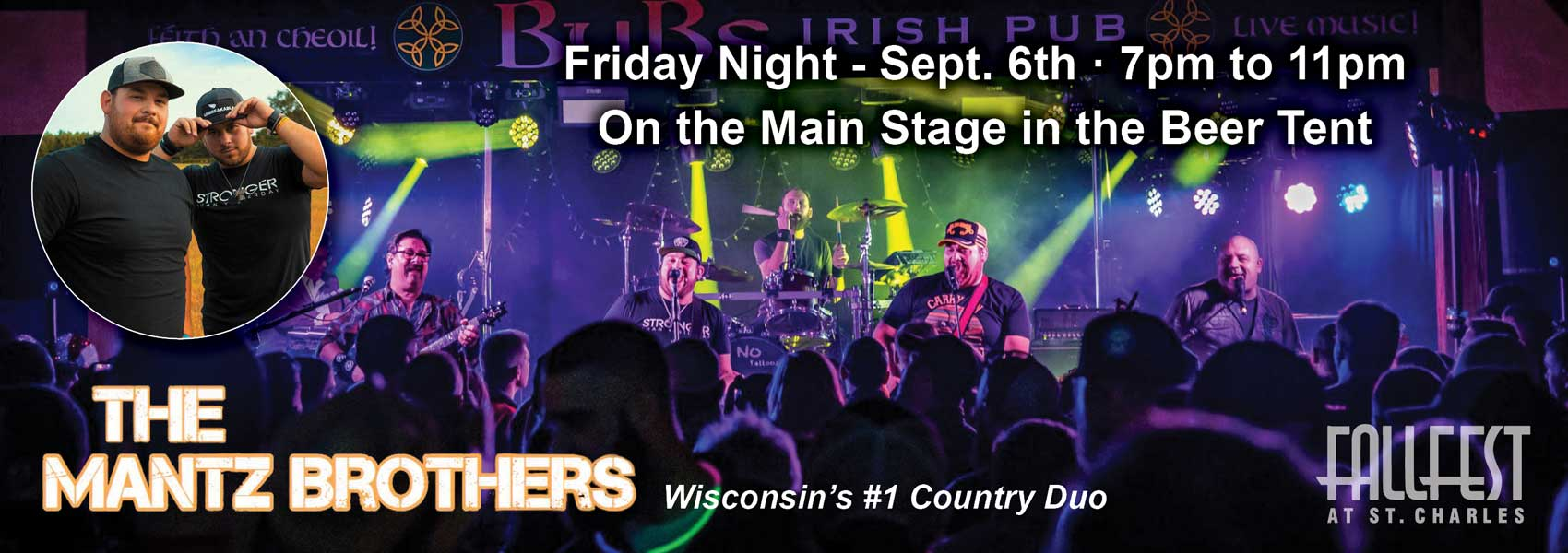 Mantz Brothers - Friday Main Beer Tent